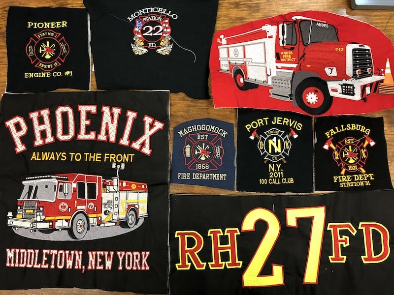Fire Department and EMS Embroidery