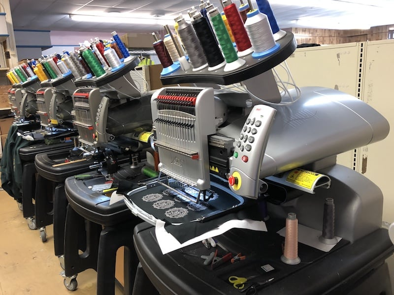 embroidery machines at everyday apparel