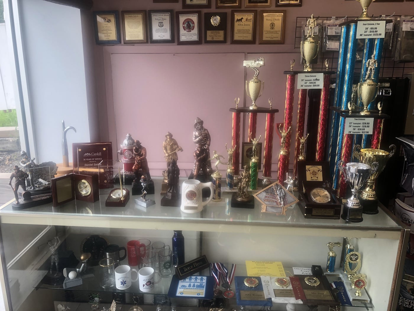 Everyday Apparel Trophies and awards